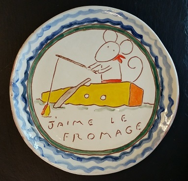 Cheese Serving Plate (no. 52)