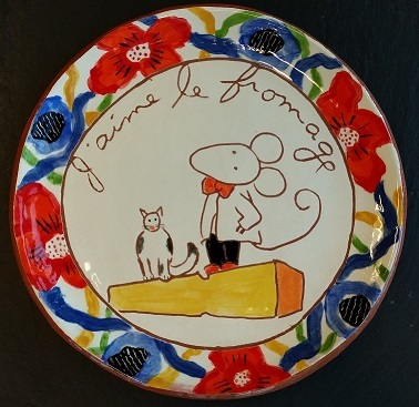 Cheese Serving Plate (no. 61)