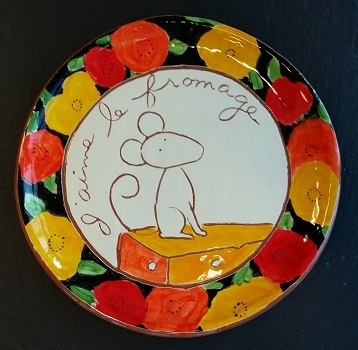 Cheese Serving Plate (no. 143)
