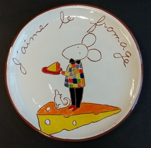 Cheese Serving Plate (no. 46)