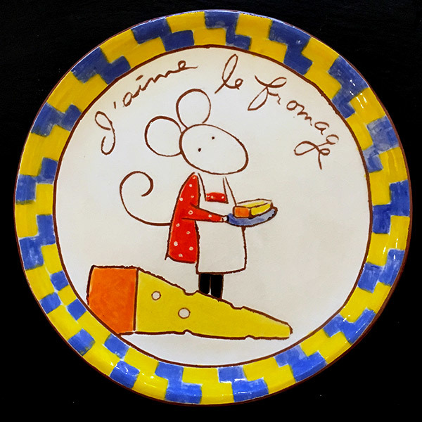 Cheese Serving Plate - 147