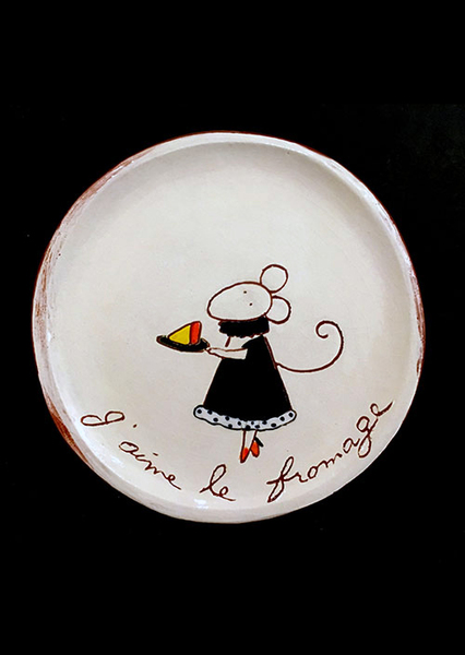 Cheese Serving Plate (no. 155)