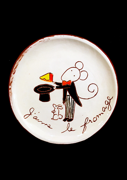 Cheese Serving Plate (no. 160)